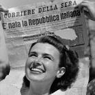La guerra è finita. Nasce la Repubblica. Milano 1945-1946. Fotografie di Federico Patellani