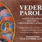Vedere parole 2019 - ll Sacro dell'Arte. Omaggio al Codex Purpureus Rossanensis