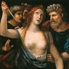 Giovanni Antonio Bazzi, detto Sodoma (Vercelli, 1477 - Siena, 1549), Lucrezia romana, Post 1517, Olio su tavola, Galleria Sabauda, Torino