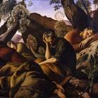 Felice Carena, Gli apostoli, 1926, olio su tela, cm 161x 216. Galleria d'arte moderna di Palazzo Pitti, acquistato alla XV° Esposizione Internazionale d'Arte della Città di Venezia, 1926.