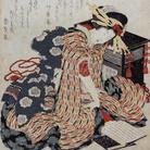 Katsushika Hokusai, Young Woman reading Makura no Sōshi (The Pillow Book), The Sumida Hokusai Museum Collection | Courtesy of the Sumida Hokusai Museum, Tokyo
