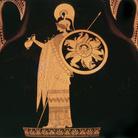 Ercole e Atena, Anfora attica del Pittore di Berlino, 500/490 a.C. circa, Altezza (con coperchio) 79 cm, Antikenmuseum Basel und Sammlung Ludwig