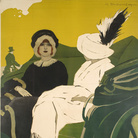Marcello Dudovich, Mele C. Napoli Confezioni per Signora, Circa 1908, 1.457 x 2.058 cm