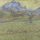 Vincent van Gogh, Campi di grano in un paesaggio montuoso, 1889, Olio su tela, Otterlo Museum