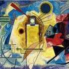 Giallo, rosso, blu, 1990, Da Vassily Kandinsky, Arazzo ad alto liccio, Lana, 304 x 190 cm, Tessitura Arazzeria Scassa, Asti, Collezione privata, Asti