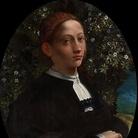 Dosso Dossi (? -1542), Ritratto di giovane, Possibile ritratto di Lucrezia Borgia, Circa 1518, Olio su pannello, 74.5 x 57.2 cm, National Gallery of Victoria