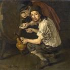 Giacomo Ceruti detto Pitocchetto, Gli spillatori di vino, olio su tela, 117 x 151 cm. Collezione privata