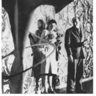 George Karger (1902 - 1973), Peggy Guggenheim e Jackson Pollock davanti a Murale New York, 1946 ca., Stampa a posteriori, Stampa alla gelatina d'argento | Courtesy of Peggy Guggenheim Collection Archives, Venice