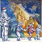 Famiglie in cammino verso la pace. Opere di Carlo Carli