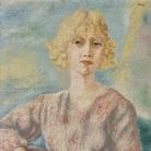 Alberto Savinio, Ritratto di Mademoiselle Parisis, 1929, Olio su tela | Courtesy ED Gallery Piacenza