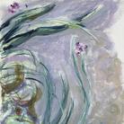 Claude Monet (1840 - 1926), Iris, 1924-1925 circa, Olio su tela, 105 x 73 cm, Parigi, Musée Marmottan Monet, Lascito Michel Monet, 1966 Inv. 5076 | © Musée Marmottan Monet, Académie des Beaux-Arts, Paris