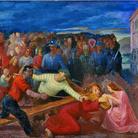 Otto Dix, Cristo e la Veronica, 1943, olio su tavola, cm 81 x 100, Città del Vaticano, Musei Vaticani, inv. 23723. Foto © Governatorato dello Stato della Città del Vaticano - Direzione dei Musei © Otto Dix, by SIAE 2015