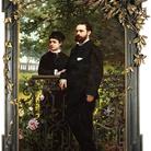 Eugenio Scomparini, Ritratto di Piero ed Evelina Sandrini, 1878.