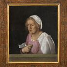 """Svelato il vero volto della """"Vecchia"""" di Giorgione"""