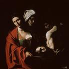 Caravaggio, Salomé con la testa di Battista, 1607 circa, Olio su tela, 140 x 116 cm, Madrid, Palacio Real, Colecciones Reales, Patrimonio Nacional