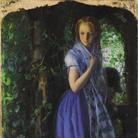 Arthur Hughes (1832-1915), Amore d'aprile, 1855-1856, Olio su tela, 49.5 88.8 cm, Tate, Purchased 1909 |© Tate, London 2019