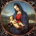Raffaello Sanzio (1483 - 1520), Madonna Conestabile, 1504, Olio su tavola, Diametro 17.9 cm, Museo Statale Ermitage, San Pietroburgo