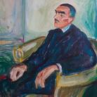 Edvard Munch, Jappe Nilssen in una sedia di vimini 1925 – 1926 olio su tela, cm 78,00 x 69 Collezione Erik M. Vik © The Munch Museum / The Munch-Ellingsen Group by SIAE 2013
