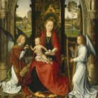 Hans Memling, Madonna e Bambino con Angeli, 1485-1490. Washington, National Gallery of Art. Andrew W. Melton Collection