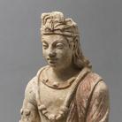 Bodhisattva Gandhara, III-IV secolo d.C., Stucco, 40.5 cm