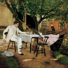 William Merritt Chase, The Open Air Breakfast, 1888c. | © Toledo Museum of Art