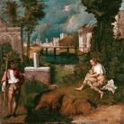 Giorgione (Castelfranco Veneto, 1478 circa - Venezia, 1510), Tempesta, 1502-1503, Tempera a uovo e olio di noce su tela, 83 x 73 cm, Venezia, Gallerie dell'Accademia
