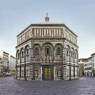 Riappare l'oro della Porta Nord del Battistero di Firenze