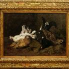 Giovanni Segantini, Natura morta con cacciagione, 1880 - 1881.