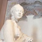 Paolo Troubetzkoy, Elin Troubetzkoy nuda, Databile intorno al 1910-1911, Gesso non patinato, 122 x 94 x 95 cm | Courtesy of Museo del Paesaggio di Verbania | Foto: Francesco Lillo 2016