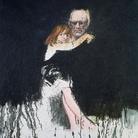 Carlo Mattioli, Autoritratto con anna, 1982, Olio su tela, 70 x 80 cm, Collezione privata | Courtesy of Labirinto della Masone,