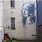 Girl with a Pierced Eardrum, Banksy