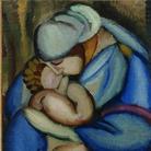 Tamara de Lempicka, Maternité, 1922 ca. Olio su tela, 79x60 cm. Collection Yves et Françoise Plantin © Tamara Art Heritage. Licensed by MMI NYC/ ADAGP Paris/ SIAE Roma 2015