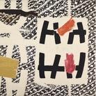 Gallerie d'Italia | Giuseppe Capogrossi, Superficie n. 106, 1954, Olio su tela Roma, Collezione privata | Courtesy Galleria De Crescenzo & Viesti Presentata nel 1954 nella collettiva internazionale Caratteri della pittura d'oggi alla Galleria Spazio di Roma