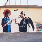 Street Art Ferrandina. The first wall - Naf-Mk