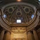 Aperti per restauri - La Cupola della Chiesa dei Ss. Luca e Martina