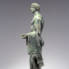 Eracle stante con i pomi delle Esperidi, 100 a.C. circa, Bronzo, Altezza 63 cm, Antikenmuseum Basel und Sammlung Ludwig