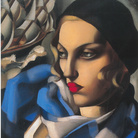 Tamara de Lempicka, La sciarpa blu, 1930. Olio su tavola, 56,50 x 48cm, Collezione privata. © Tamara Art Heritage. Licensed by MMI NYC/ ADAGP Paris/ SIAE Roma 2015