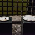 Erik Mittasch, Could be you next time, pittura su porcellana, Torre Grimaldina di Palazzo Ducale, Genova 2016 | © MACT & CACT Arte Contemporanea Ticino