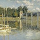 Claude Monet, Le Pont d'Argenteuil, 1864, Olio su tela, Musée d'Orsay, Paris