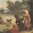 Giovanni Francesco Barbieri, detto il Guercino (Cento, 1591 - Bologna, 1666), Caccia agli uccelli, 1616, Affresco, Cento, Pinacoteca Civica