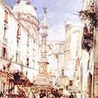 La Guglia di san Gennaro in piazza Riario Sforza