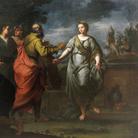 Ercole Graziani (Bologna 1688-1765), Rebecca ed Eleazaro al pozzo, 1730-1735 circa, Olio su tela, 153 x 115 cm, Provenienza: Galleria Jacques Leegenhoek, Parigi, 2015