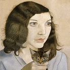 Lucian Freud, Girl with a Kitten, 1947, Olio su tela, Lucian Freud Archive / Bridgeman Images | Foto: © Tate London | Courtesy of Chiostro del Bramante, Roma