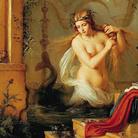 Julius Hübner (1806 - 1882), Die schöne Melusine (La bella Melusina), 1844 | Nella tradizione medievale le melusine sono fate dell'acqua, con la coda di pesce o di serpente, destinate a sposare un cavaliere a condizione di non esserne mai viste nel loro vero sembiante. Infrangere il tabù della melusina, simbolo dell'autorità e della ricchezza cavalleresca, avrebbe condotto il cavaliere alla rovina e condannare la fata a restare per sempre un ibrido.