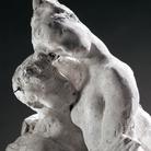 Auguste Rodin, Psiche e Amore, gesso. © Musée Rodin, Parigi. Foto di Christian Baraja