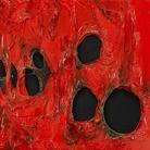 Alberto Burri, Rosso Plastica, 1963 © Fondazione Burri