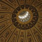 Interno della cupola della Basilica di San Pietro a Roma (dettaglio), Immagine tratta dal film