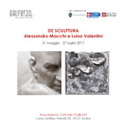 De Sculptura. Alessandro Macchi e Luisa Valentini