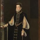 Attribuito a Sofonisba Anguissola (Cremona, 1532 - Palermo, 1625), Ritratto di Elisabetta di Valois (1545-1568), Regina consorte di Spagna, 1563, Olio su tela, 123 x 2016 cm,Museo del Prado, Madrid