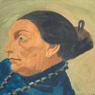 Corrado Cagli, Ritratto della Signora Sachs, 1940, Olio su tavola, 40 x 30 cm, Galleria Arte Moderna, Milano